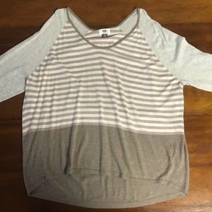 Old Navy | Striped Colorblock Long Sleeve